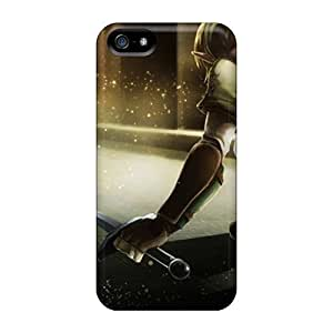 High-end Cases Covers Protector For Iphone 5/5s(link Shield The Legend Of Zelda Oracle Swords)