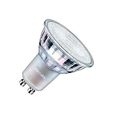 Bombilla LED GU10 Regulable CorePro MAS spotMV 3.5W 60° Blanco Neutro 4000K efectoLED: Amazon.es: Iluminación