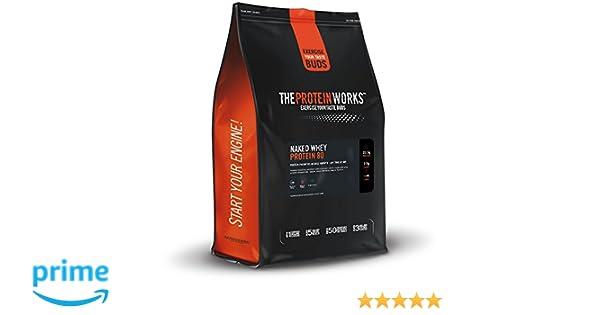 Naked Whey Protein 80 | Sabor Velvet Vainilla, 1 kg | Ayuda a la ...