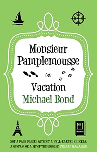 book cover of Monsieur Pamplemousse on Vacation
