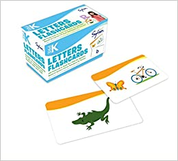 Amazon com: Pre-K Letters Flashcards: 240 Flashcards for