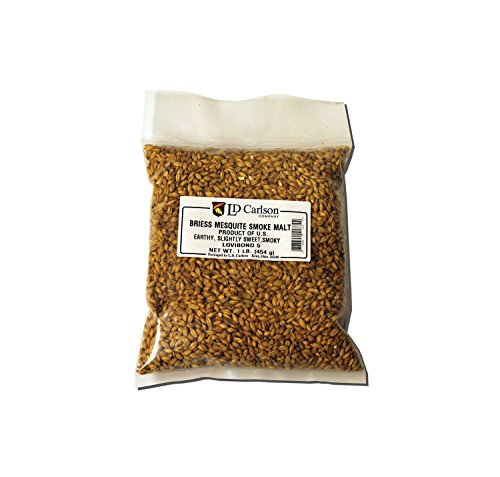 Briess Grain U.S. Brewers Malt for Beer Making & Home Brewing 1 LB (Mesquite - Mesquite Us