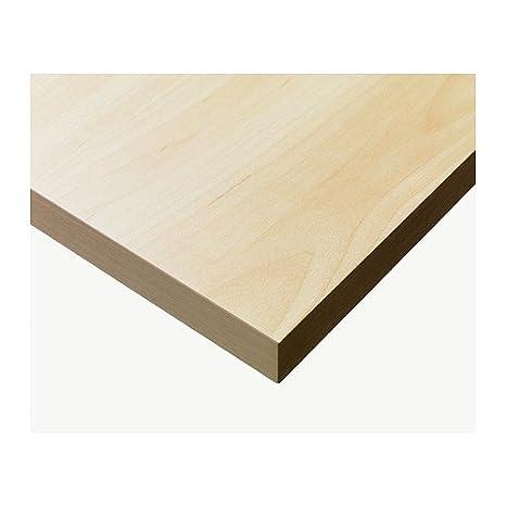 Tischplatte ikea birke  Ikea LINNMON -Tischplatte Birke -Effekt - 150x75 cm: Amazon.de ...
