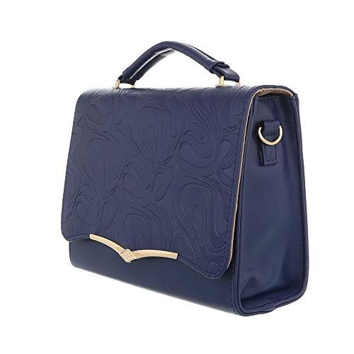 l'épaule femme Ital à Sac Bleu Foncé Design porter à pour 400tgOr