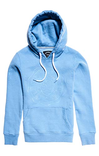 Hood A7f Tonal Mujer cruz Entry Blue Para Superdry Suéter College Badge Azul wIEPqSaxC