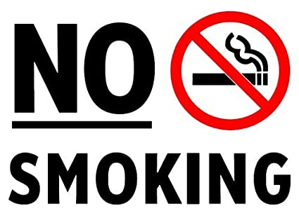 amazon com no smoking sign glossy poster picture photo non smoke