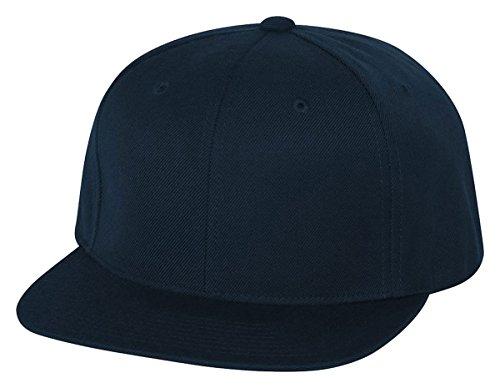 (Flexfit/Yupoong 6089M,6089MT,6089CAMO 6 Panel Premium Classic Snapback Hat Cap (Dark Navy))