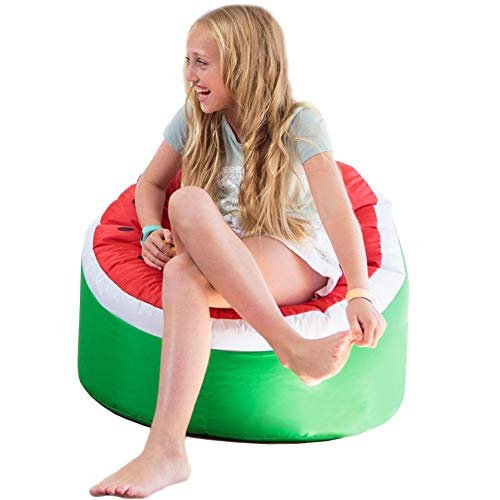 (Bean Bag Chairs for Kids Unfilled - Bean Bag Covers Only Without Filling | Indoor Outdoor Bean Bag Chair Cover for Kids Ages 2-8 | Refillable Bean Bag Chairs & Toy Stuffed Animals Storage)