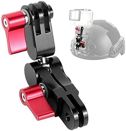 Helmet Mount  Arm Ball Joint for GoPro Hero 6//5//4 Bike Handlebar Holder