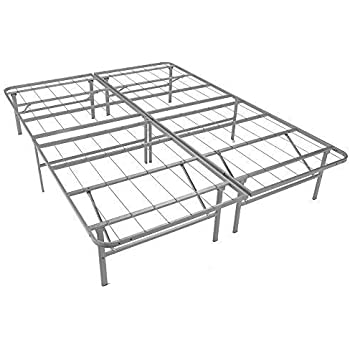 Amazon Com Mantua Premium Platform Bed Base In Silver