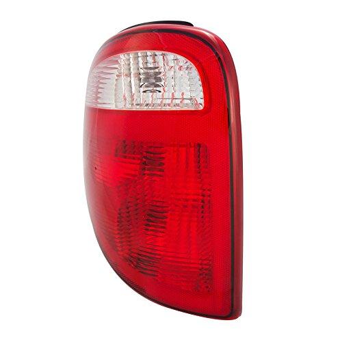 Caravan Rear Brake Light (CarPartsDepot 01 02 03 Caravan Voyager Left Tail Lamp CH2800140 Rear Brake Light Lens Body L/H)