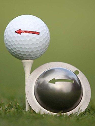 Tin Cup One Way Golf Ball Custom Marker Alignment Tool
