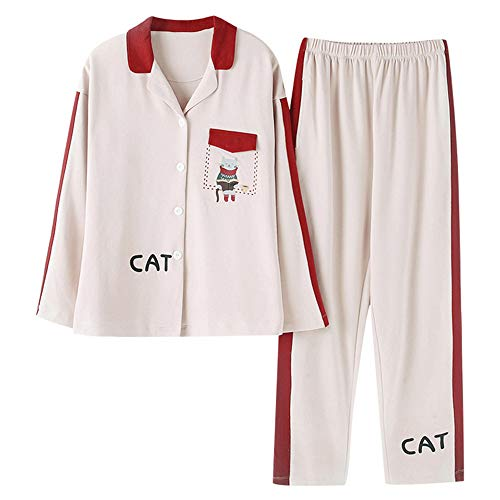 Cotone Da Notte Notte Notte Da Photo Nuovi Pigiama Vestito Color Da Casual Autunno Abbigliamento Di Pigiama Mmllse gwxTqCIYC
