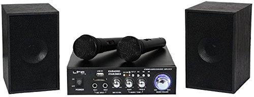 LTC KARAOKE-STAR2MKII Kit de Karaoké 2 x 50 W LOTRONIC Karaoke-star2mk2 système karaoke
