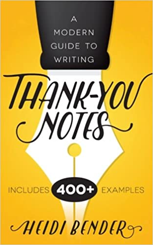 AmazonCom A Modern Guide To Writing ThankYou Notes