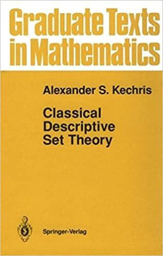Download E-books Classical Descriptive Set Theory (Graduate Texts in
