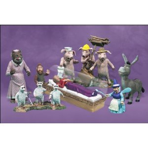 Shrek Mini Figures-Fairy Tale Fugitives by McFarlane Toys (Shrek Toys)
