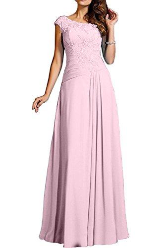 Rosa Blau Chiffon Promkleider Abendkleider Brautjungfernkleider Damen Partykleider Charmant Neu Langes pz5wx1nq