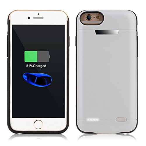Iphone Portable Protective Rechargeable White