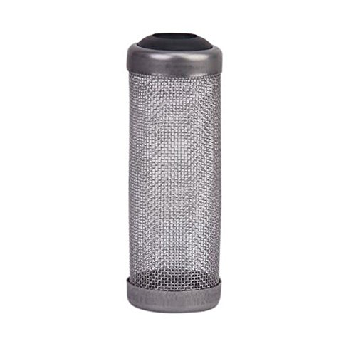 SPHTOEO Stainless Steel Flow Fish Filter Guard Net Shrimp Safe Protect Basket Mesh 16mm