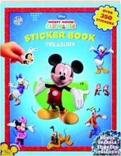 Disney Mickey Mouse Clubhouse Sticker Book Treasury - Disney Enterprises
