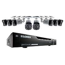 Lorex 8-Channel, 2TB DVR, 1080p HD Surveillance System, 8 1080p Weatherproof Bullet Cameras with 130