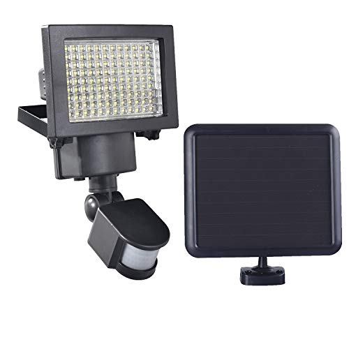 108 SMD LEDs Bright Outdoor Solar Powered Motion Sensor Activated Security Light