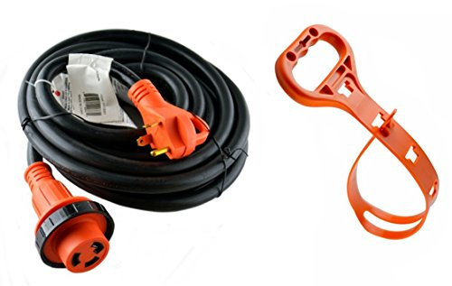 GoWISE Power 50-Feet 30 Amp RV Extension Cord with Molded Connector and Handle RVC3002