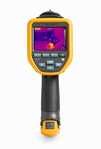 Fixed Lcd Large (Fluke TIS60 9HZ Thermal Infrared Camera with IR-Fusion, Viedeo Recording, Picture-in-Picture, Voice Annotations, Color Alarms, 3.5