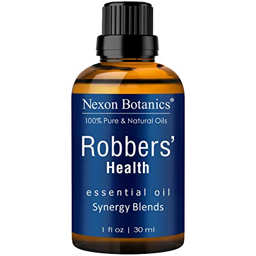 Nexon Botanics Robbers' Health Essential Oil Blend 30 ml – Formulated by 4 Thieves – Pure, Natural Undiluted Blend of Five Essential Oils – Guards and Defense Shield Against Germs