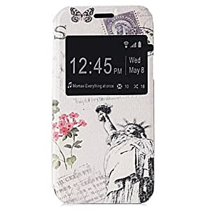 QHY Samsung Galaxy S5 Mini compatible Graphic/Solid Color/Special Design PU Leather Full Body Cases/Cases with Stand