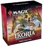 MTG Magic The Gathering Ikoria Booster Prerelease Pack Set Kit - Box of 6 Packs + More