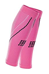 CEP Women\'s Progressive+ 2.0 Night Calf Sleeves, Size III (Calf 12.5-15-Inch), Flash Pink/Black
