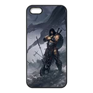 Diablo iPhone5s Cell Phone Case Black gift pp001_6355701