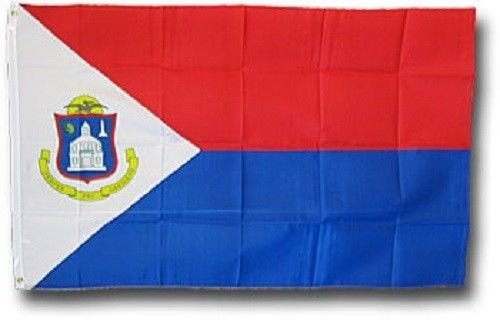 ALBATROS Sint Maarten Flag 2 ft x 3 ft ft Netherlands Dutch Saint Martin Caribbean Island Nation for Home and Parades, Official Party, All Weather Indoors Outdoors (Playsets Canada)