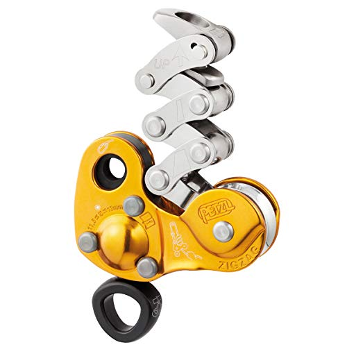 PETZL Professional Zigzag Mechanical Prusik Pulley Device D22A 11.5-13mm Rope ()