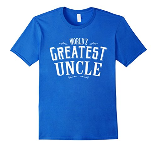 [Men's World's Greatest Uncle Funny T shirt 3XL Royal Blue] (Greatest Halloween Costumes Ever)