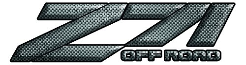 - Z71 Carbon Fiber Decal Set of 2