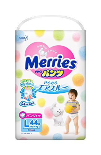 Merries pants streched walker L size - Pants Diaper