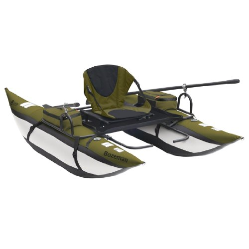 Classic Accessories Bozeman Inflatable Pontoon Boat With Backpack
