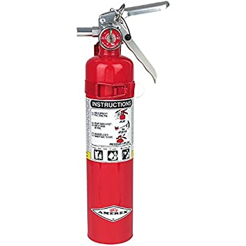 Amerex B417 2 5lb ABC Dry Chemical Class A B C Fire Extinguisher
