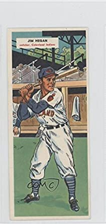 Amazoncom Jim Hegan Jack Parks Baseball Card 1955 Topps