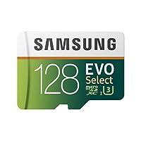 Samsung MB-ME128GA/AM 128GB MicroSDXC EVO Select Memory Card with Adapter