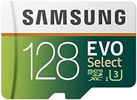 Samsung mb-me32ga/AM 128 GB microSDHC tarjeta de memoria Evo Select con adaptador