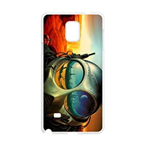 alien painting Samsung Galaxy Note 4 Cell Phone Case White Tribute gift pxr006-3899807