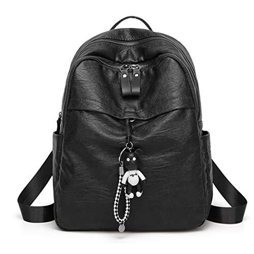 Portátil Casual Pequeña Bolsa Mini Mujer Bolso Mochila Multifunción Negrol Mnory Escolar 5gpH7w
