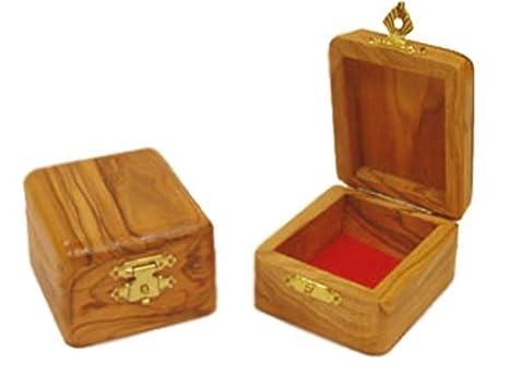 Amazon.com: Láser tallada rosario caja: Home & Kitchen