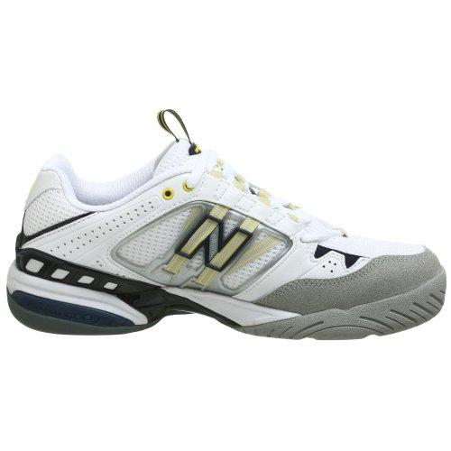 New Balance - Zapatillas de tenis para hombre blanco blanco