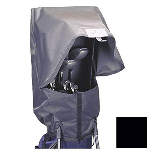 (Seaforth Rain Gear SeaForth Waterproof Rain Hood Cover for Golf Bags, Black)
