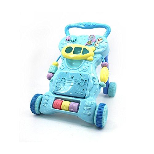 LZTET Baby Walker Máquina De Aprendizaje Multifunción para Niños Pequeños Educación Temprana Puzzle Uso De Juguetes Edad...